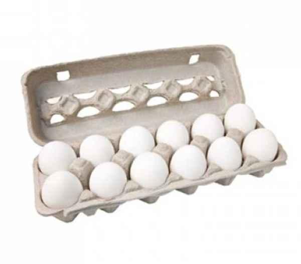 Ovos Branco Grande Embalado (Dúzia)