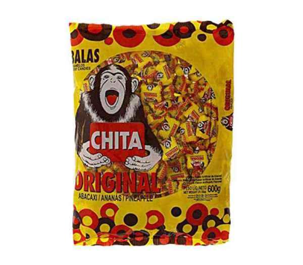 Bala Chita Mastigável Sortida
