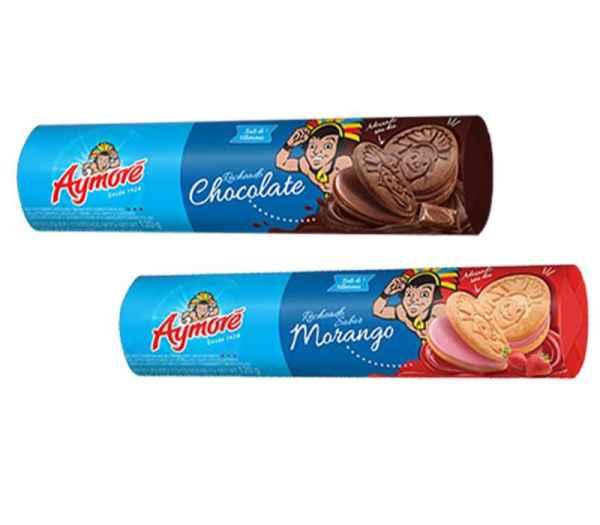 Biscoito Aymoré Recheado