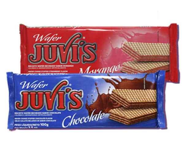 Biscoito Waffer Juvis