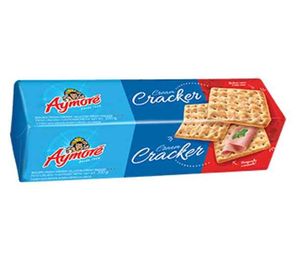 Biscoito Aymoré Cream Cracker