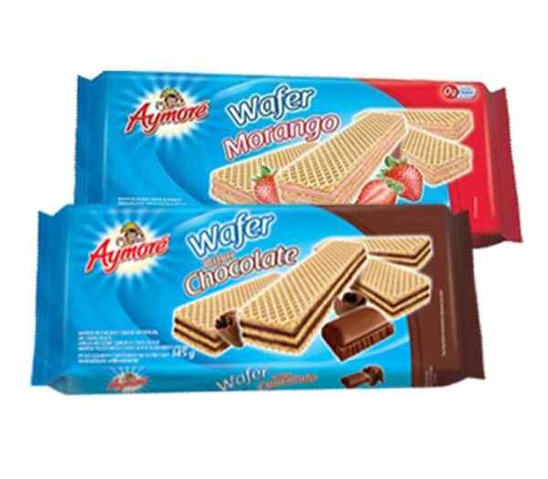 Biscoito Aymoré Waffer