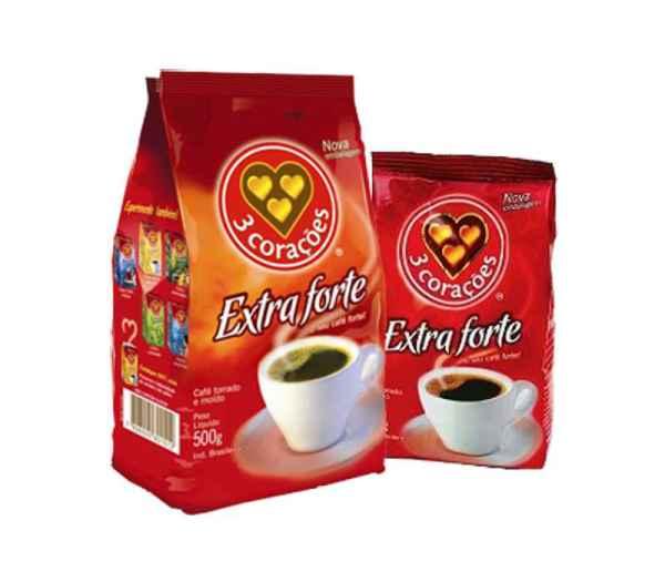 Café 3 Corações Extra Forte