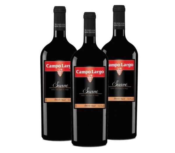 Vinho Campo Largo Tinto Suave