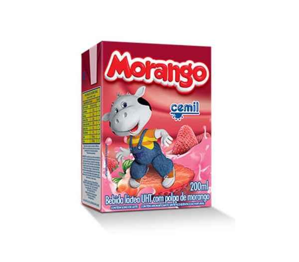 Bebida Láctea Morango Cemil